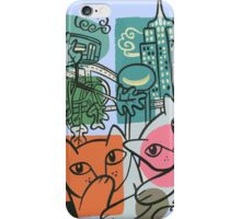On the Town iPhone Case/Skin