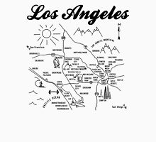 los angeles map vintage Unisex T-Shirt