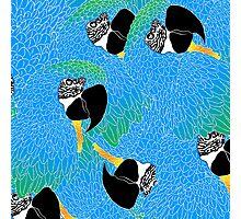 Parrot Pattern Photographic Print