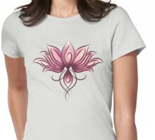 Soft lotus Womens Fitted T-Shirt