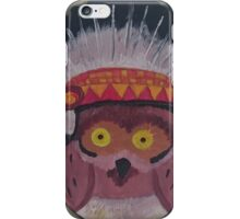 Chief Owl iPhone Case/Skin