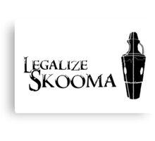 Legalize Skooma Canvas Print