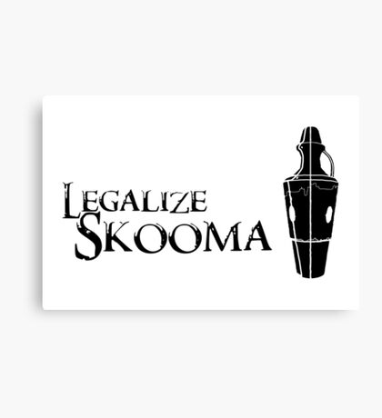 Legalize Skooma Canvas Print