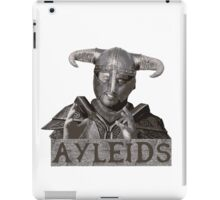Ayleids iPad Case/Skin