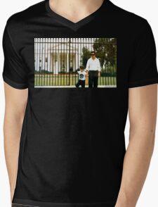 White House Pablo Mens V-Neck T-Shirt