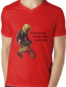Cyclos Mens V-Neck T-Shirt