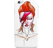 David Bowie Aladdin Sane Pin up iPhone Case/Skin