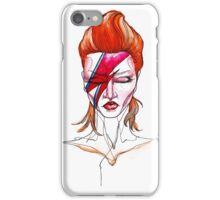 David Bowie Aladdin Sane Pin up iPhone Case/Skin