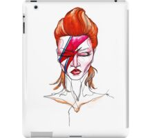 David Bowie Aladdin Sane Pin up iPad Case/Skin