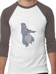 Baloo Men's Baseball ¾ T-Shirt