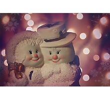 Festive Friends Photographic Print