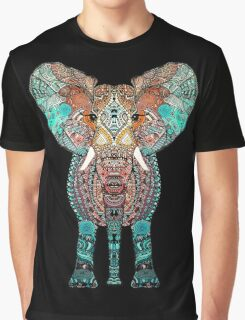 BOHO SUMMER ELEPHANT Graphic T-Shirt