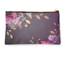 FLOWERS & GOLD Studio Pouch