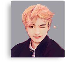 Blond Taehyung  Canvas Print