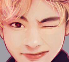 Blond Taehyung  Sticker
