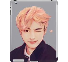 Blond Taehyung  iPad Case/Skin