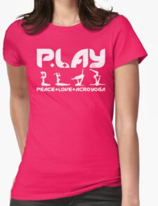 P+L+AY Poses Womens Fitted T-Shirt