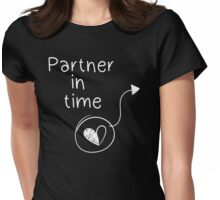 Life is strange Partner in time Womens Fitted T-Shirt