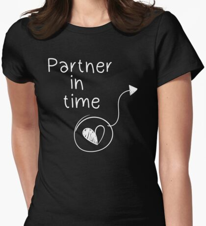 Partner in time Womens Fitted T-Shirt