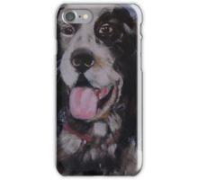 Aristo; Setter, rescue dog iPhone Case/Skin