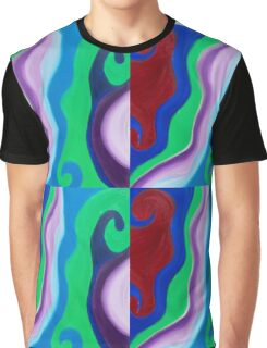 Lava Love Energy Painting  Graphic T-Shirt