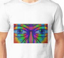 Rainbow Face Unisex T-Shirt