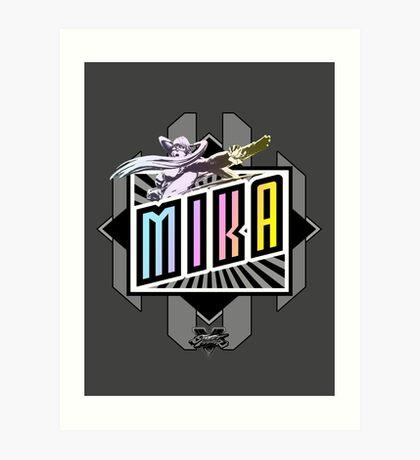 R-Mika Art Print