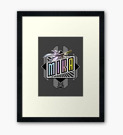 R-Mika Framed Print