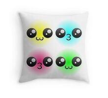 Kawaii Pop Art Throw Pillow