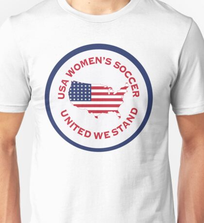 Women's Soccer United We Stand Unisex T-Shirt