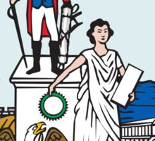 Seal of Washington DC Sticker