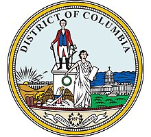 Seal of Washington DC Photographic Print