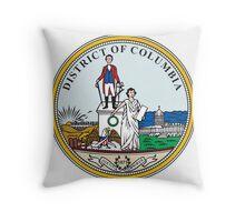 Seal of Washington DC Throw Pillow
