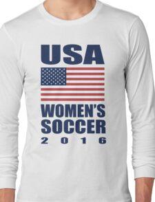 USA Women's Soccer 2016 Long Sleeve T-Shirt
