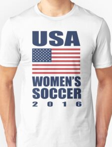 USA Women's Soccer 2016 T-Shirt