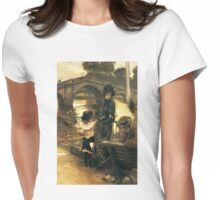 By the Thames at Richmond Womens Fitted T-Shirt
