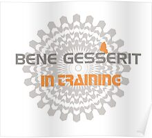 Dune - Bene Gesserit in Training Poster