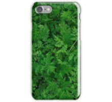 Green Leaves! iPhone Case/Skin
