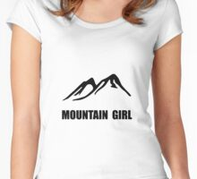 Mountain Girl Women's Fitted Scoop T-Shirt