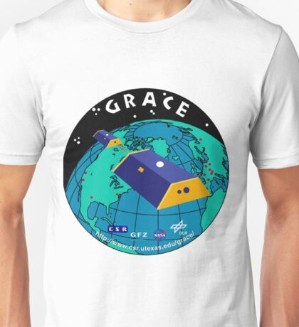 Gravity Recovery and Climate Experiment Logo Unisex T-Shirt
