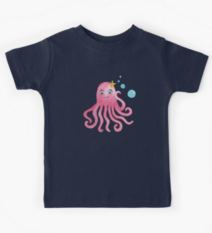 Cute Octopus Kids Tee