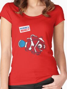 Where's Nemo? Women's Fitted Scoop T-Shirt