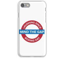 Mind The Gap iPhone Case/Skin