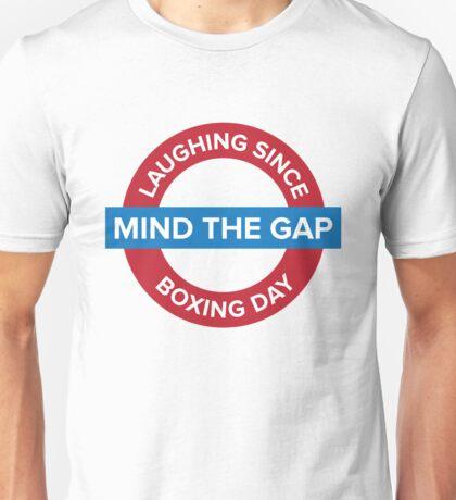 Mind The Gap Unisex T-Shirt