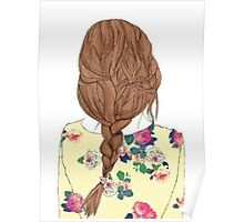 Cool Braided Hair Poster