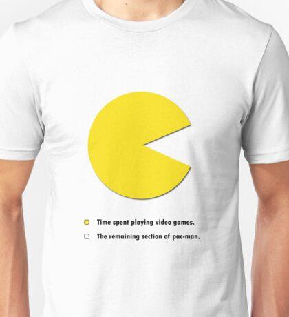 Video Game Pie Chart Unisex T-Shirt