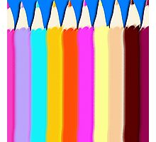 Pencils Photographic Print