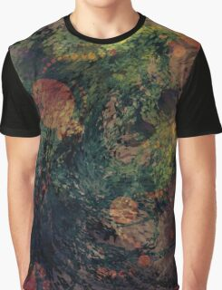 Abstract Accents and Contrasts Graphic T-Shirt