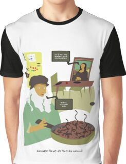 Dinner Time at the Da Mincis Graphic T-Shirt