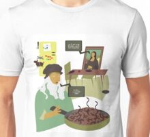 Dinner Time at the Da Mincis Unisex T-Shirt